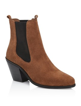 Leather Eastwood Boot by Sportsgirl
