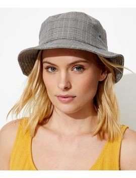 Check Bucket Hat by Sportsgirl