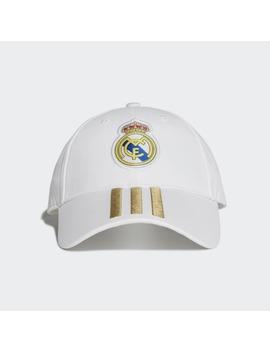 Real Madrid 3 Stripes Cap by Adidas