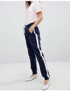 Soaked In Luxury Contrast Trim Jogger by Asos