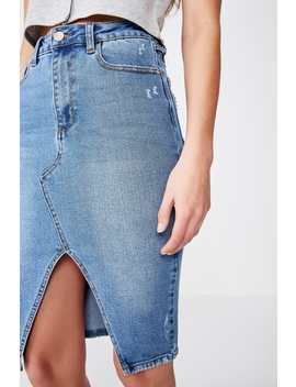The Premium Midi Skirt by Cotton On
