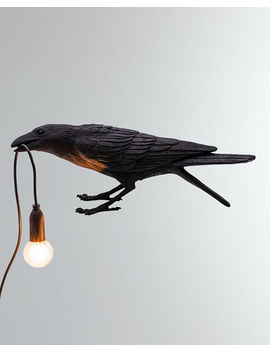Seletti Bird Lamp Playing Outdoor And Matching Items by Seletti