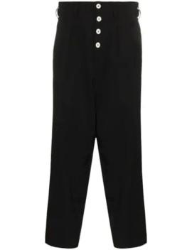 Dropped Crotch Trousers by Yohji Yamamoto