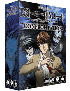 Deathnote Confrontation by Psi/Idw