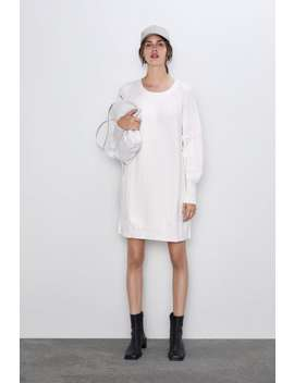 Cable Knit Dress View All Knitwear Woman by Zara