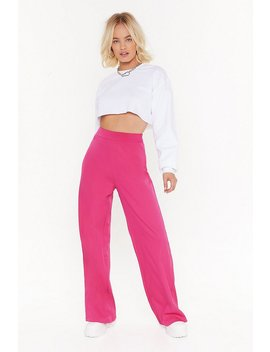 Suits You Wide Leg Trousers by Nasty Gal