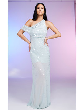 Sequined Silk Gown by Cushnie
