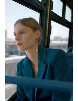 Shimmery Chain Earrings  New Inwoman by Zara