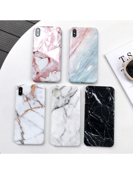 Marble X Cases For Iphone X Xs Max Case Soft Tpu Back Cover For Iphone Xs Xr Iphone 8 7 6 6 S Plus Case Phone Case Cover by Ali Express.Com