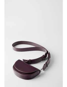 Oval Mini Crossbody Bag Womanshoes & Bags New In by Zara