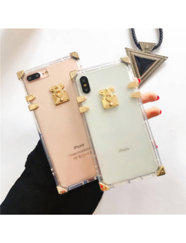 Luxury Brand Transparent Silicone Soft Case For I Phone 7 8 Plus 6 6 S Plus Phone Cover Case For I Phone X Xr Xs Max Fundas Coque by Ali Express