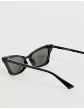 Dusk To Dawn Maneater Square Sunglasses In Black by Dusk To Dawn