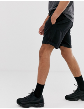 Bershka Jogger Shorts In Black by Bershka