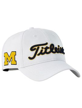Titleist Men's Michigan Wolverines Performance Golf Hat by Titleist