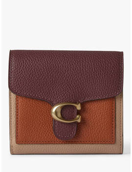 Coach Tabby Leather Small Wallet, Vintage Mauve by Coach