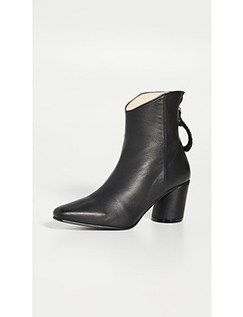 Oblique Turnover Ring Boots by Reike Nen
