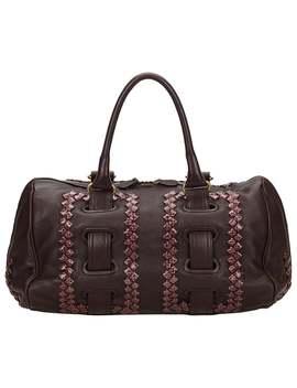 Bottega Veneta Dark Brown Leather Shoulder Bag by 1 Stdibs