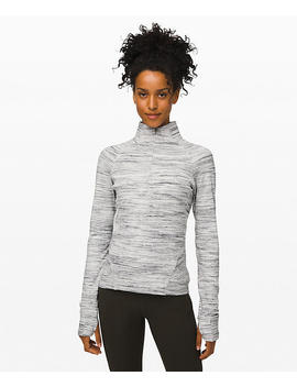 Outrun The Elements 1/2 Zip New by Lululemon