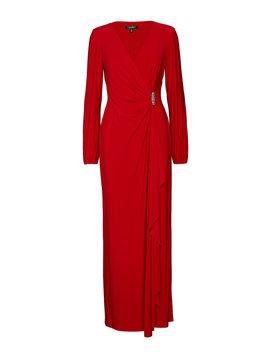 Brooch Jersey Gown by Lauren Ralph Lauren
