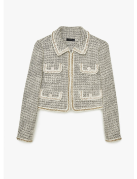 Short Tweed Jacket by Uterqüe