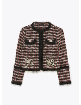 Embellished Tweed Jacket by Uterqüe