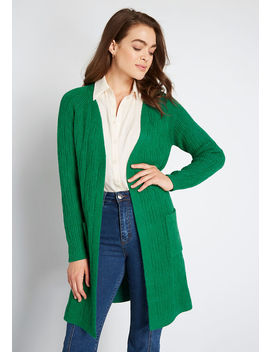 Great Lengths Long Cardigan by Modcloth