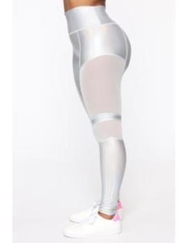 My Future Is Looking Bright Leggings   White/Combo by Fashion Nova