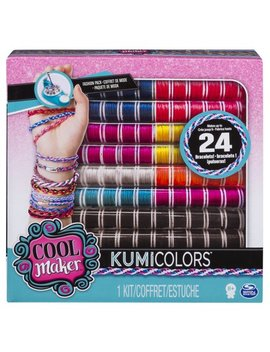 Cool Maker   Kumi Colors Fantasy & Neons Fashion Pack, Makes Up To 24 Bracelets With The Kumi Kreator, For Ages 8 And Up by Cool Maker