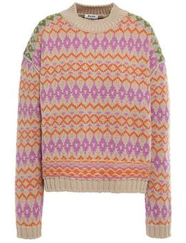 Wool Jacquard Sweater by Acne Studios