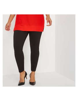 Women+ Seam Front Ponte Pant by Joe Fresh
