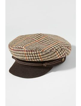 Tartan Engineer Cap by Anthropologie
