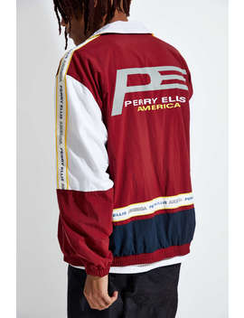Perry Ellis Colorblock Track Jacket by Perry Ellis