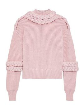 Port Braid Trimmed Wool Sweater by Paper London
