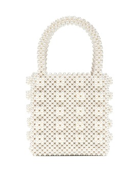 Antonia Faux Pearl Tote by Shrimps