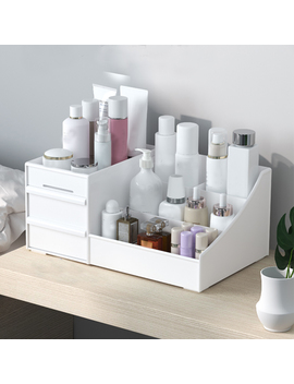 Makeup Drawers Organizer Box Storage Box Jewelry Container Make Up Case Cosmetic Office Boxes Make Up Container Boxes New A02 by Ali Express.Com