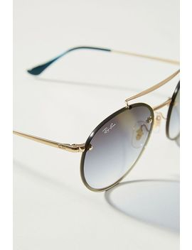 Ray Ban Round Aviator Sunglasses by Ray Ban
