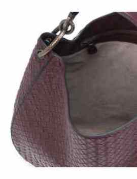 Tote Loop Medium Aus Leder by Bottega Veneta