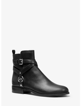 Preston Leather Ankle Boot by Michael Michael Kors
