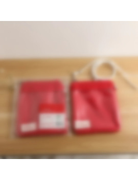 Kpop Bangtan Red Shoulder Bags Same Paragraph Mini Package Surrounding And Real Person Stickers by Ali Express.Com