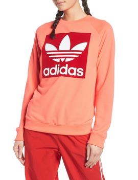 Trefoil Graphic Sweatshirt by Adidas Originals