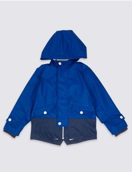 Colour Block Fisherman Jacket (3 Months   Years) by Marks & Spencer