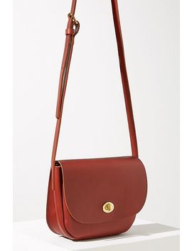 Francis Leather Crossbody Bag by Anthropologie