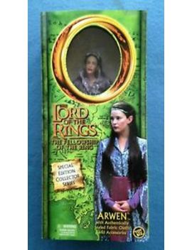 "Lord Of The Rings Fellowship Arwen 12"" Doll Action Figure Toy Biz 2001 Mip by Toy Biz"