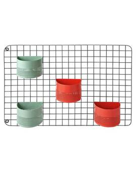 Argos Home Stockholm Wire Wool Grid With Planters879/1115 by Argos