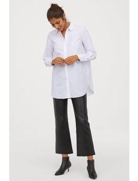 Dlhá Bavlnená Košeľa by H&M