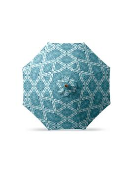 9' Round Outdoor Market Umbrella by Frontgate