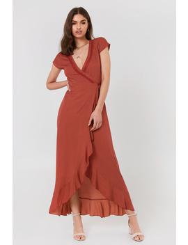 Brady Dress Red by Fayt
