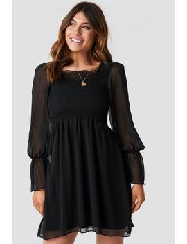 Giped Mini Dress Black by Trendyol