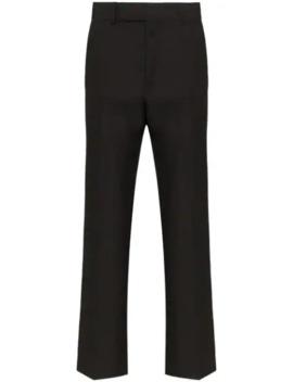 Miles Slim Leg Wool Trousers by Haider Ackermann