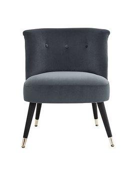 Maddox Chair   Dark Grey by Dunelm